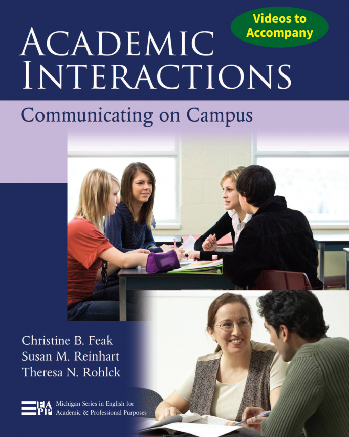 Videos to accompany the book, <i>Academic Interactions</i>