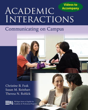 Videos to Accompany Academic Interactions