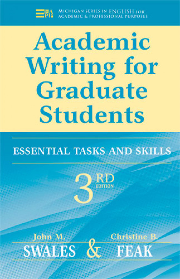 Academic Writing for Graduate Students, 3e
